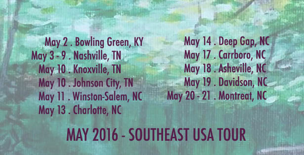 southeast us may 2016
