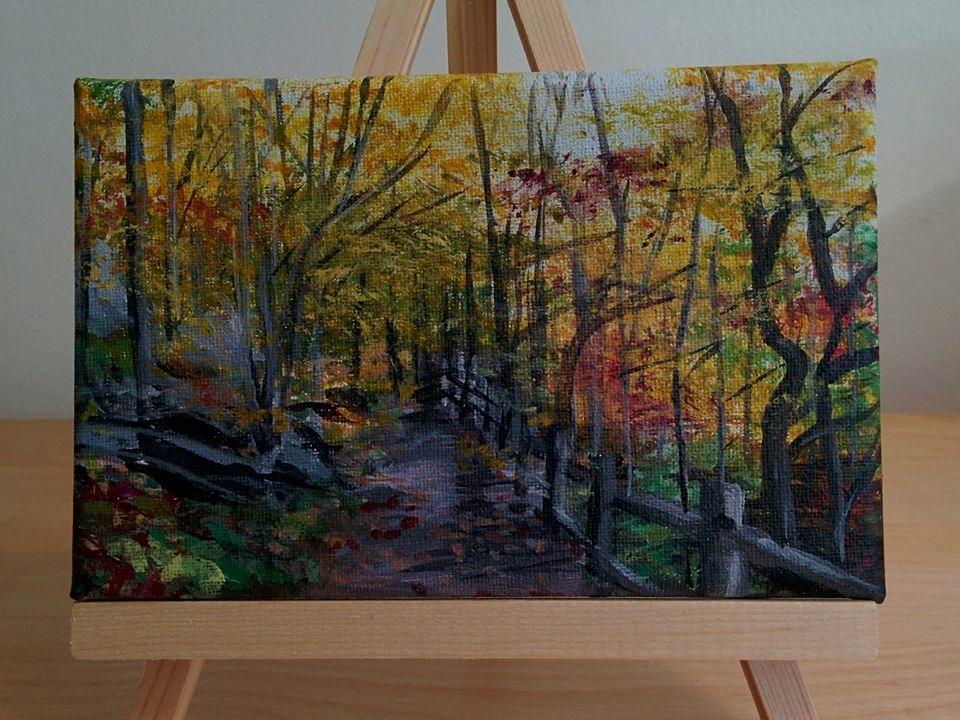 Champlain Trail, Gatineau Park QC